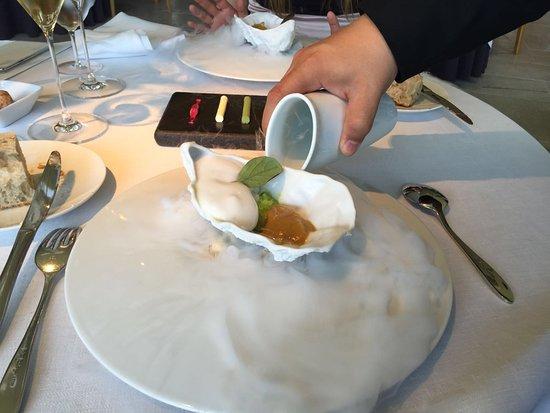 Martin Berasategui: Uno de los platos del menú degustación