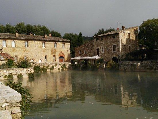 San Quirico d'Orcia, Italia: Bagno Vignoni