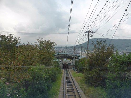 Yakuri Cable Car: 八栗ケーブル5