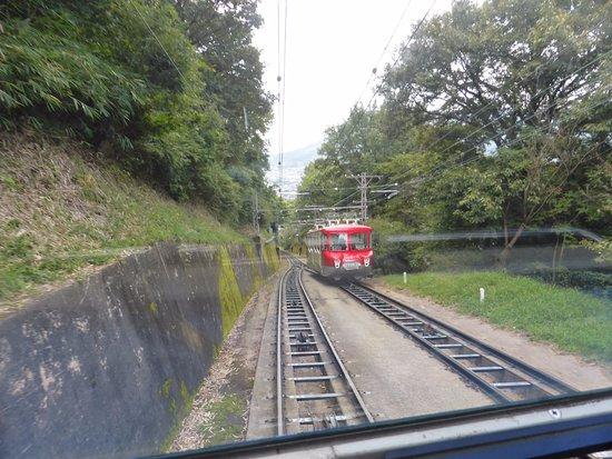 Yakuri Cable Car: 八栗ケーブル7