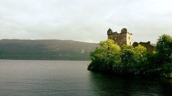 Loch Ness by Jacobite: The castle from the boat