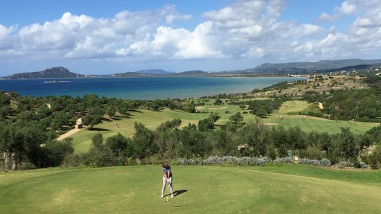 Messenia Region, Greece: Spectacular view from the CN Bay course