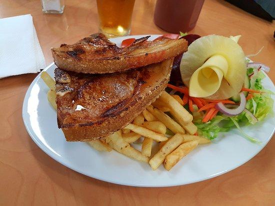 Walgett, Australia: bistecca!!!!