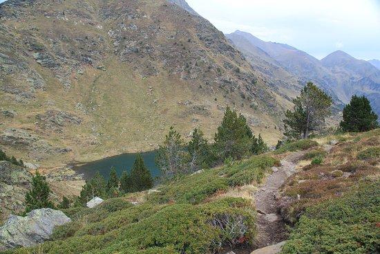 El Serrat, Andorra: Fragment 3-ciego jeziora