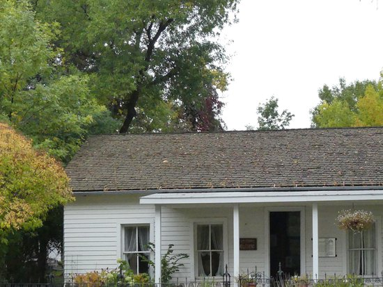 Fort Benton, MT : The oldest house in Montana