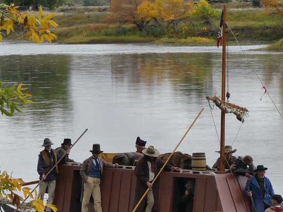 Fort Benton, มอนแทนา: Making a film on the Upper Missouri River
