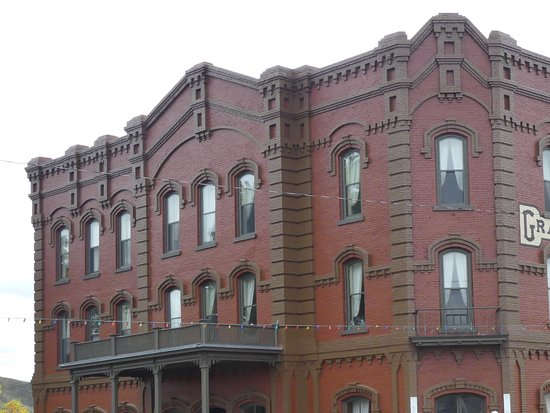 Museum of the Northern Great Plains: The old Hotel