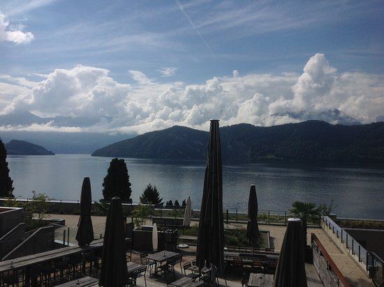 Hotel Alpenblick - Die Terasse