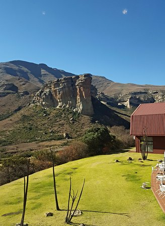 Free State, Sør-Afrika: View from the Hotel