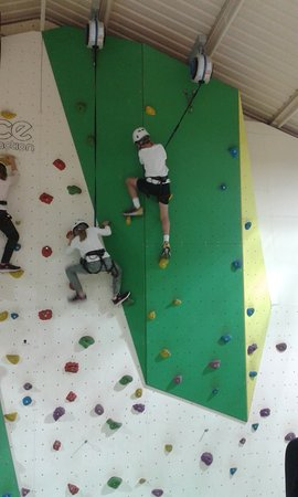 Combe Haven Holiday Park Haven Climbing Wall For Children Ands