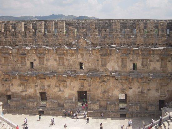 Serik, Turkiet: Anfiteatro romano Aspendos