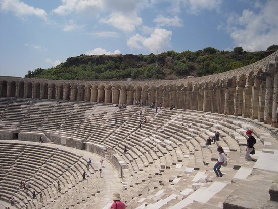 Serik, ตุรกี: Anfiteatro romano Aspendos