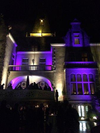 Tremsbuettel, Germany: Nytårs lys på slottet