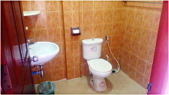 Nalinthone Guesthouse: Private Toilet