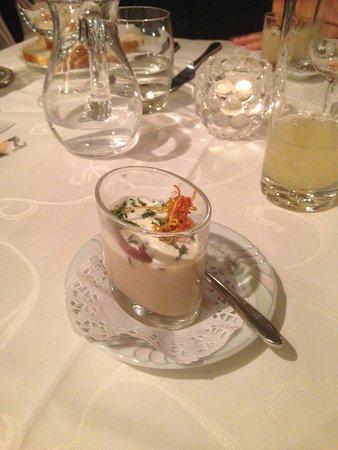 Saillon, Szwajcaria: Début du repas