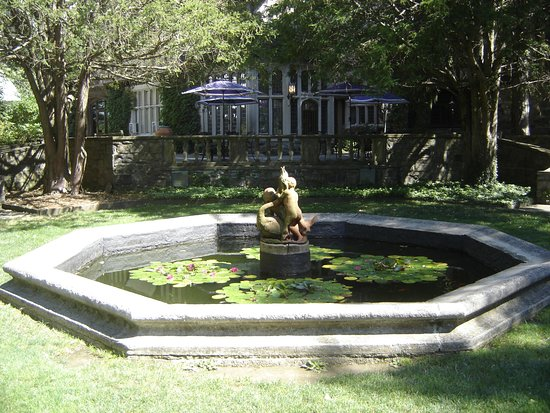 Ringwood, NJ: Fountain by the house.