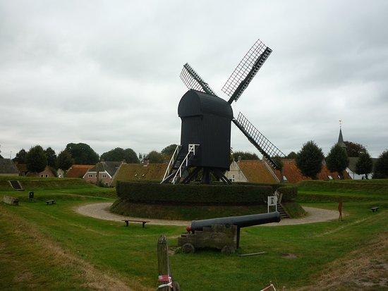 Bourtange, The Netherlands: Windmühle