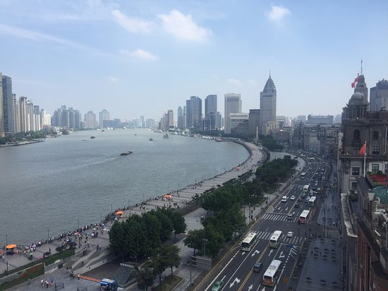The Cathay Room: View of the Bund
