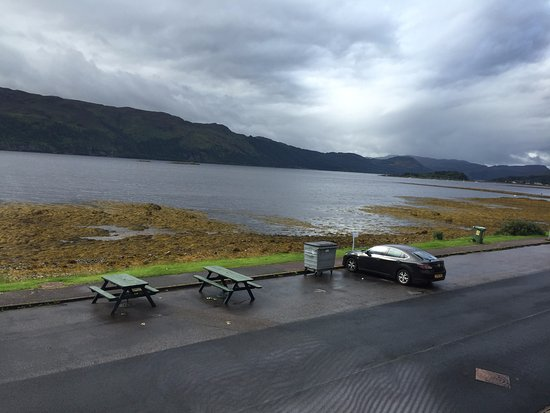 The view of Lochcarron from the room