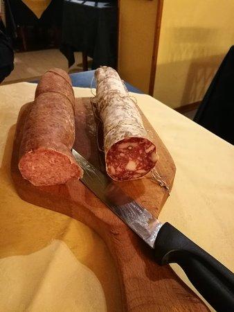 San Costanzo, Italia: Delicious antipasti