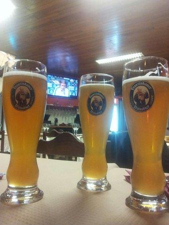 Moita, Portugal: Cerveja de trigo