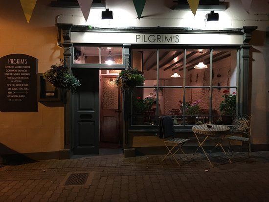 Pilgrim's in the evening, centre of Rosscarbery.