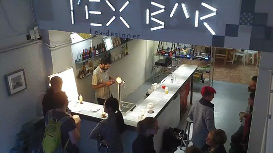 L'Ex-Designer Project Bar: l'ex-designer bar