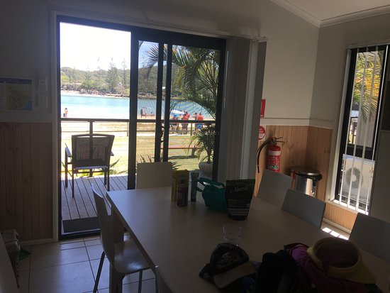Palm Beach, Australia: Cabin on Tallebudgera Creek