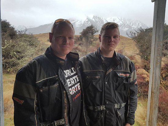 Queenstown, Nova Zelândia: Fathers Day 2016 - Nomads Safari Quads = Awesome!!!