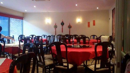 Cheadle, UK: dining area