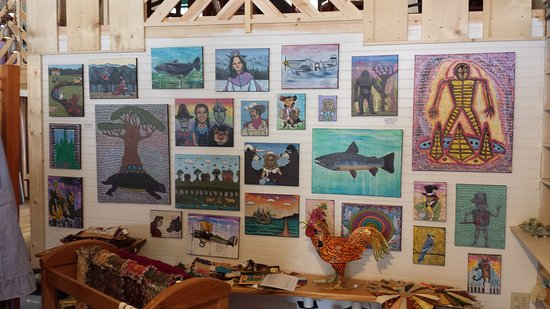 Micaville, NC: So many local artists, live music, and shared space with a sweet bakery