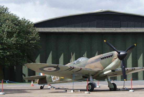 Duxford, UK: Spitfire