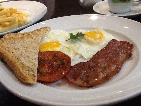 Randburg, แอฟริกาใต้: Breakfast