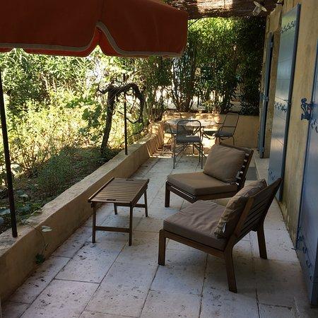 Paradou, Frankrig: Terrasse privée