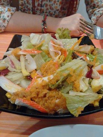 Furin Kazan: Salad