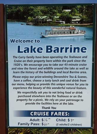Yungaburra, Australia: Lake Barrine information