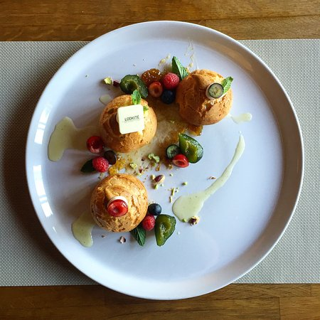 Ruse, Bulgaria: Simple choux,with wild forest fruits