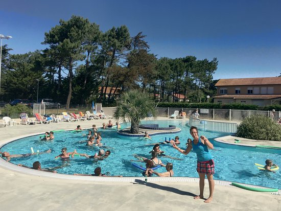 Mimizan, France: Cours d'aquagym