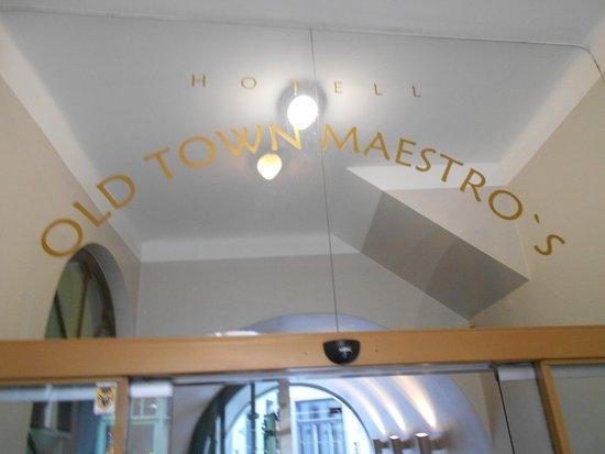 Old Town Maestro's: I en portöppning vid Suur-Karja gatan finner man detta hotell !