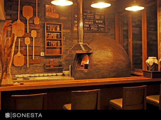 Sonesta Hotel Cusco: Nuestra reciente pizzeria