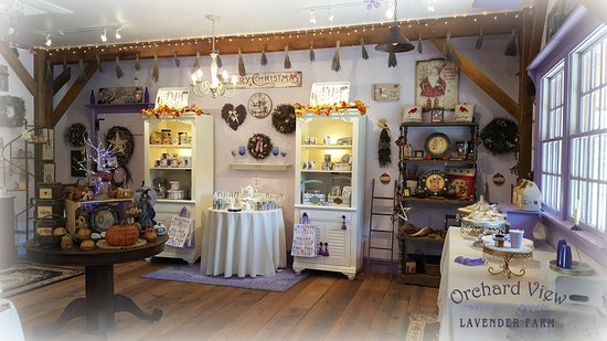 Port Murray, NJ: Orchard View Lavender Farm
