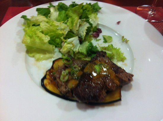 Trets, Frankrig: plat, boeuf mariné