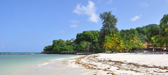 Sainte Anne Island, Seychelles: Hôtel Ste Anne - plage