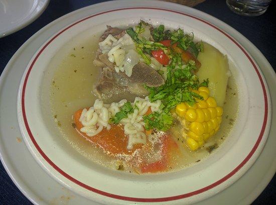 Rotonda del Cautin: Segundo plato del menú