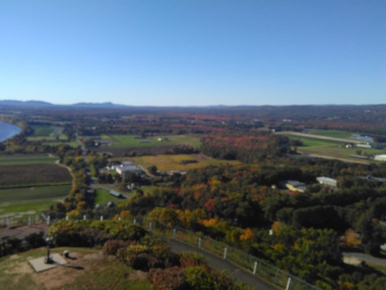 South Deerfield, MA: View from the top