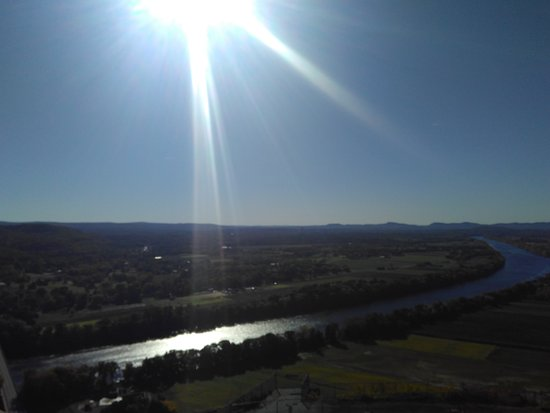 South Deerfield, MA: Autumn morning shot