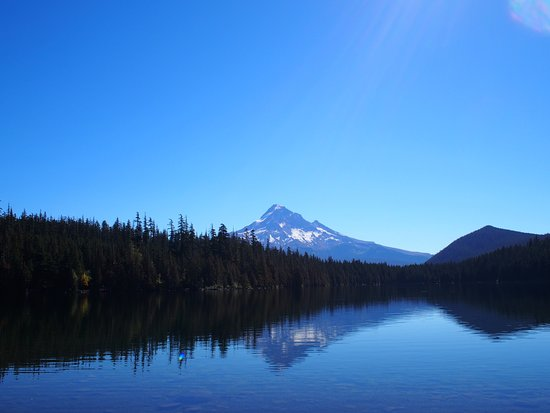 Mount Hood National Forest: Mt Hood from Lost Lake