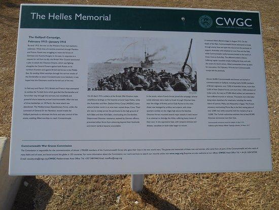 Gallipoli, Turchia: Info about the memorial