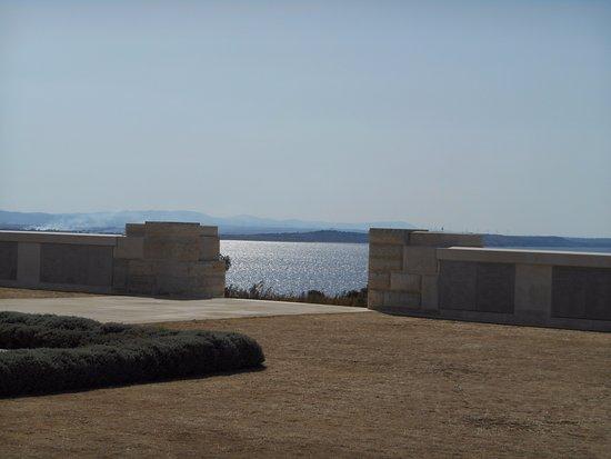 Gallipoli, Turchia: The view out to sea