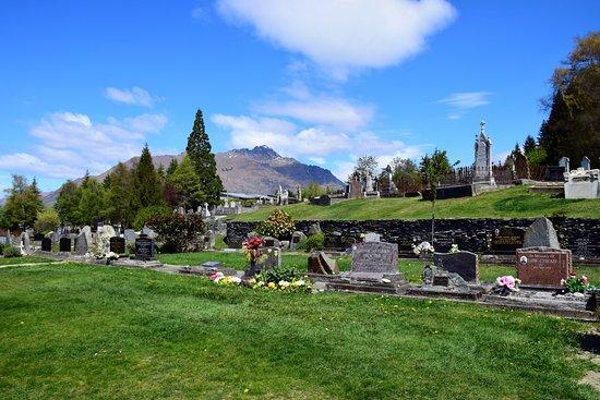 كوينز تاون, نيوزيلندا: cementerio